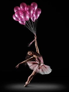 dancer balloons